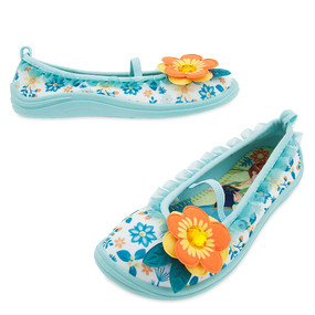 "Disney Store Anna and Elsa - Frozen ""Flower Power"" Swim Shoes for Girls"