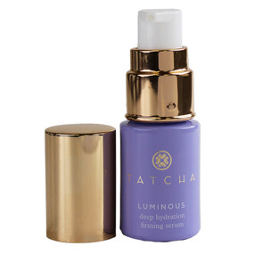 Tatcha Luminous Deep Hydration Firming Serum, Travel Size .34oz/10ml