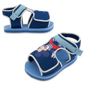 "Disney Store Mickey Mouse & Donald Duck ""Soft Shoe Shuffle"" Swim Shoes for Baby"