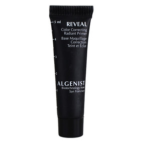 Algenist Reveal Color Correcting Radiant Primer, Travel Size .17oz/5ml