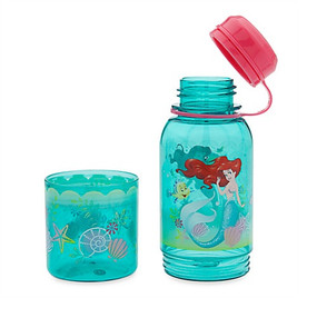 "Disney Store Ariel - The Little Marmaid ""Twin Treats"" Snack Bottle"