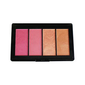 Lancome Starlight Sparkle Face Palette Blush/Highlighter/Bronzer - Glam - .26oz/7.3g