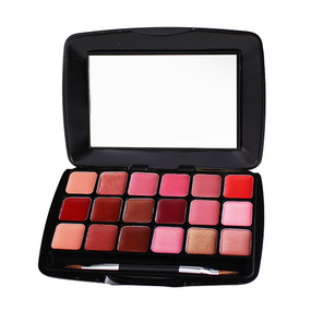 Eve Pearl Ultimate Lip Palette - 18 colors, .49oz/14g