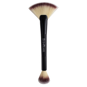 Eve Pearl Brush #204 - MicroSilk Dual Fan Highlighter Brush