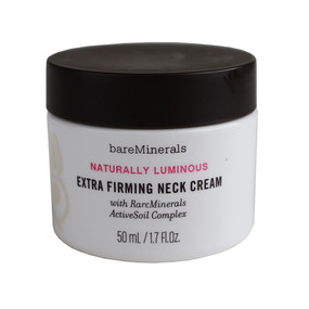 bareMinerals Naturally Luminous Extra Firming Neck Cream with RareMinerals ActiveSoil, 50ml/1.7oz - Unboxed
