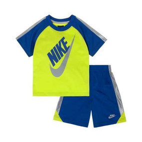 Nike Futura Tee & Shorts 2 Piece Set for Boys