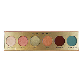 Butter London Natural Goddess Eye Shadow Palette - 6 Shades, .26oz/7.5g