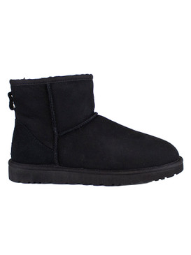 UGG Australia Classic Mini Winter Boot - Black, Women's Size 8