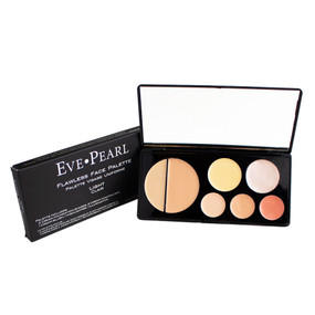 Eve Pearl Flawless Face Palette - Light (Clair), .72oz/20.4gr