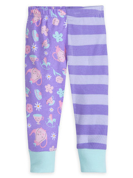 Disney Store Baby Girls Alice In Wonderland PJ PALS Pajama Set, Purple