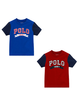 "Ralph Lauren Baby Boys ""Polo 1967"" Polo Graphic Jersey T-Shirt"