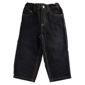 Kenneth Cole Boys Reaction Long Denim Pants Jeans - Black