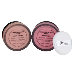 it Cosmetics Airbrush Silk Anti-Aging Blush Stain, 6.8g/0.23oz Unboxed
