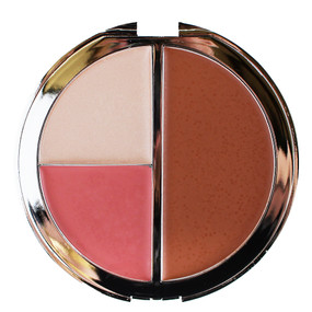 it Cosmetics CC+ Radiance Vitality Brightening Creme Disc: Creme Blush/Bronzer/Illuminator - Naturally Pretty, .53oz
