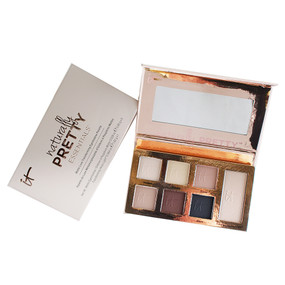it Cosmetics Naturally Pretty Essentials Matte Luxe Transforming 6 Color Eyeshadow & Luminizer Palette