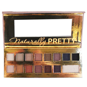 it Cosmetics Naturally Pretty Vol.1 The Romantics 14 Color Eyeshadow & Transforming Pearl Palette