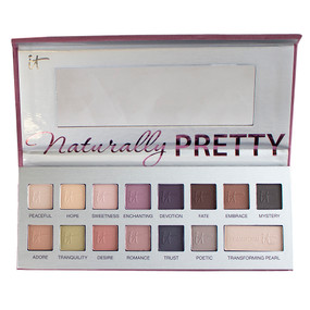 it Cosmetics Naturally Pretty Vol.2 The Romantics 14 Color Eyeshadow & Transforming Pearl Palette