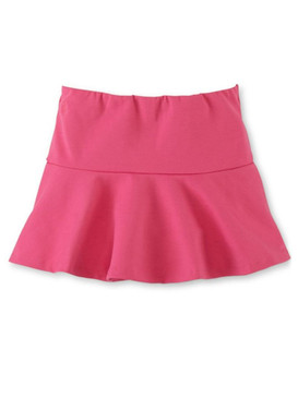 Ralph Lauren Girls Fit And Flare Ponte Pull-on Skirt