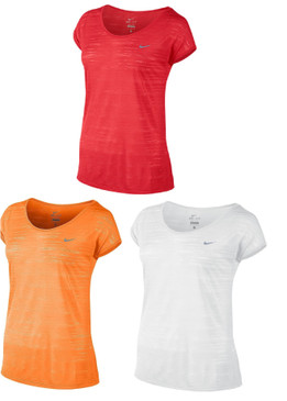 Nike Dri-FIT Cool Breeze Cap-Sleeve Women's Running Tee Shirt 644710