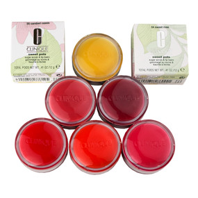 Clinique Sweet Pots Sugar Scrub & Lip Balm .41oz/12g