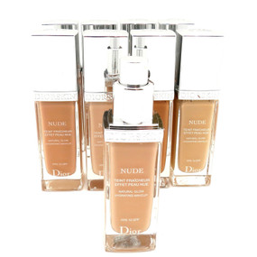 Christian Dior Diorskin Nude Natural Glow Hydrating Makeup Spf10 - Unboxed