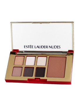 Estee Lauder Pure Color Envy Eye & Cheek Palette, 6 Shadows & Bronzer - Nudes/Bronze Goddess Medium, 0.16oz/5.32g