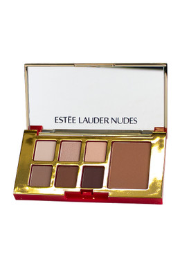 Estee Lauder Pure Color Envy Eye & Cheek Palette, 6 Shadows & Bronzer - Nudes/Bronze Goddess Light, 0.16oz/5.32g