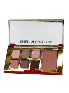 Estee Lauder Pure Color Envy Eye & Cheek Palette, 6 Shadows & Blush - Glow/Modern Mercury, 0.16oz/5.32g
