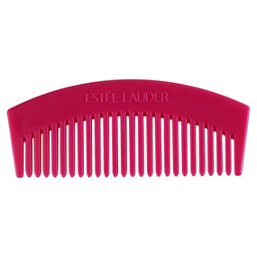 Estee Lauder by Lilly Pulitzer Plastic Hair Comb - Dark Pink, 5.5""