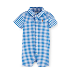 Ralph Lauren Baby Boys Cotton Poplin Shortall