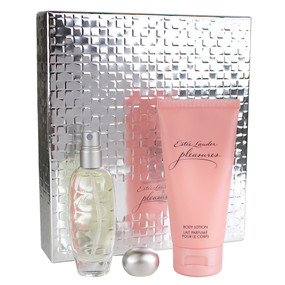 Estee Lauder Pleasures Captivating Duet Set (Eau de Parfum 1oz/30ml & Body Lotion 2.5oz/75ml)