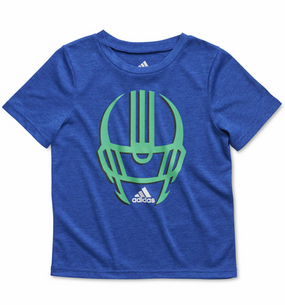 Adidas Boys Football Helmet Tee