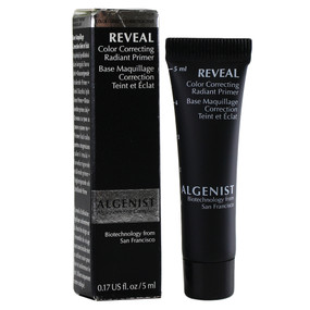 Algenist Reveal Color Correcting Radiant Primer, Travel Size 0.17oz/5ml