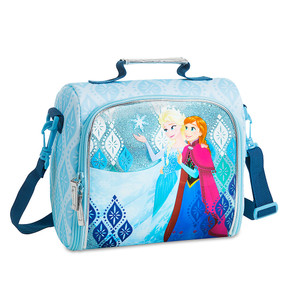 Disney Store Anna and Elsa - Frozen Lunch Tote Bag
