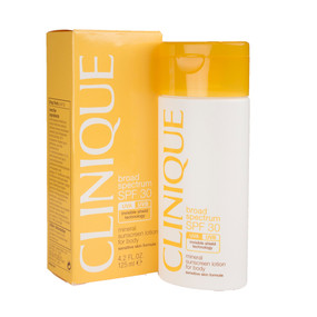 Clinique Broad Spectrum SPF 30 Mineral Sunscreen Lotion For Body 4.2floz/125ml