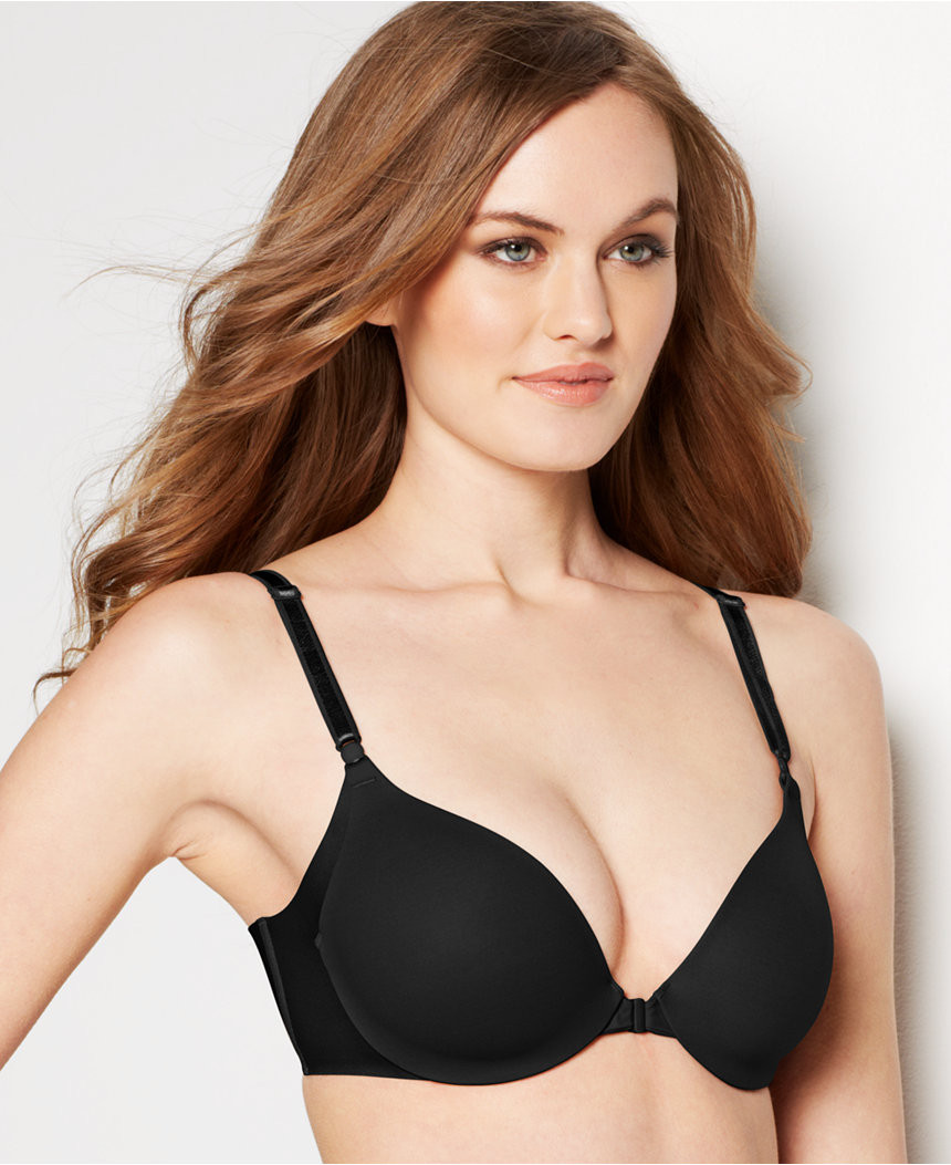 4f1a097c0d ... Warner s Women s No Side Effects Front Close Underwire Bra RB2561A.  Image 1