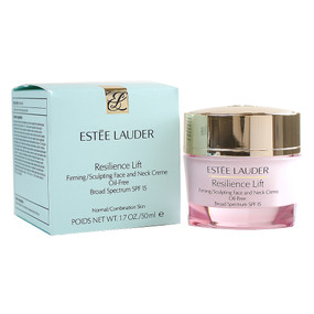 Estee Lauder Resilience Lift Firming/Sculpting Face and Neck Creme - OIl-Free SPF15, 1.7oz/50ml