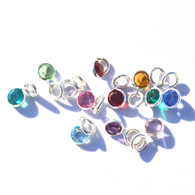 Birthstone charms (loose)