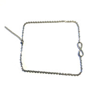 Infinity Stainless Necklace (no charms)