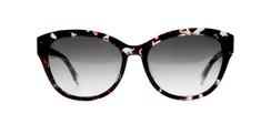 C1 Dark Brown/Mint Havana  w/ Gray Gradient CR39 Lenses