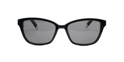 C1Black and Clear w/ Solid Gray CR39 Lenses