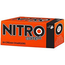 Nitrocharged - Cream Chargers (24ct)
