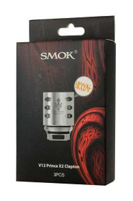 Smok - V12 Prince-X2 Clapton (3 Pack) TFV12 Prince Replacement Coils