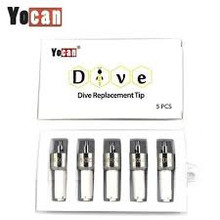 Yocan - Dive Replacement Tips (5 Pack)