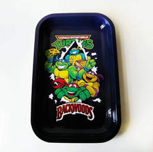 Small Rolling Tray Backwoods - Ninja Turtles