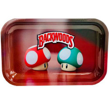 Small Rolling Tray Backwoods - Mario Mushrooms