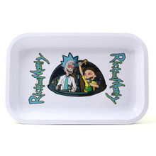 Small Rolling Tray - Rick and Morty Red Eye White Tray