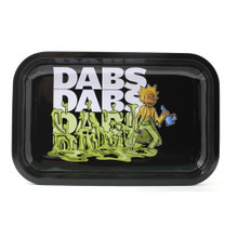 Small Rolling Tray - Dabs Dabs Dabs
