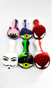 SILCNFCE - Silicone Face Pipe (MSRP: $22.99)