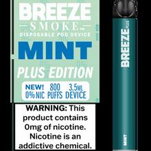 Breeze Smoke Disposable 0% Nic